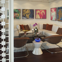 Art collectors west side pied a terre