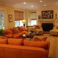 Colorful Quogue retreat for all seasons