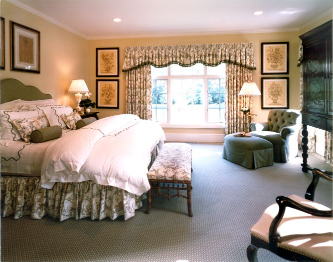 Three styles of window treatments in an east hampton for Hamptons style window treatments