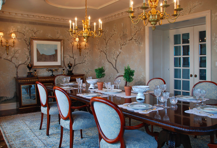 Grand Traditional Duplex for a Modern Family – Dining Room ...
