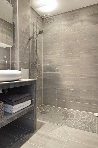 ... Floor Is Designed To Transition Into The Shower Floor. This Sexy,  Minimalistic Design Is Much Easier Than A Tub To Get In An Out Of And  Easier To Clean!