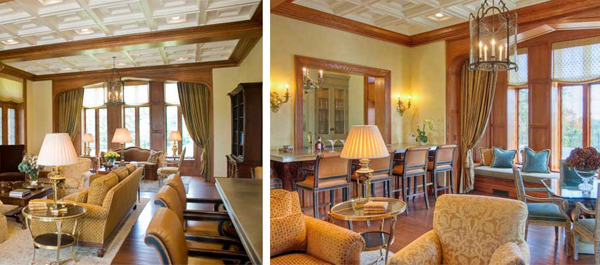 historical beauty interior design dining