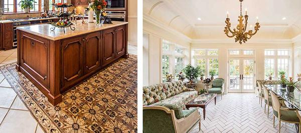 historical interior design kitchen
