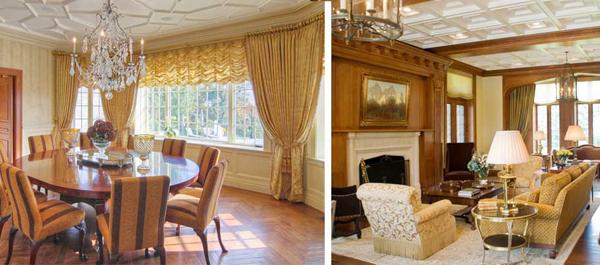 historical diningroom interior