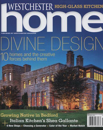 Westchester Home Magazine - Devine Design Cover