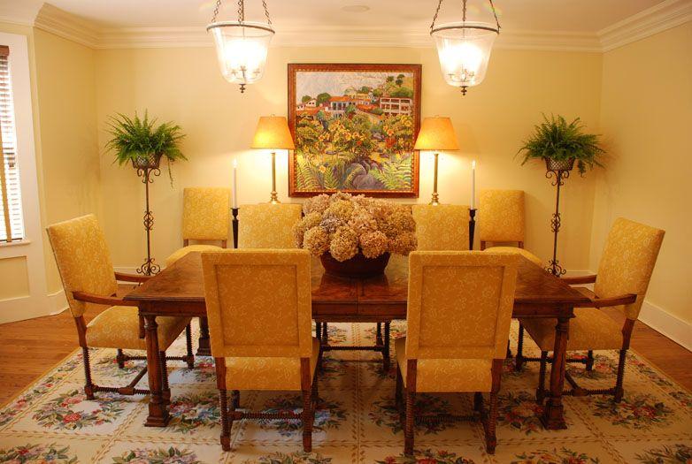 dining room interior quogue ny