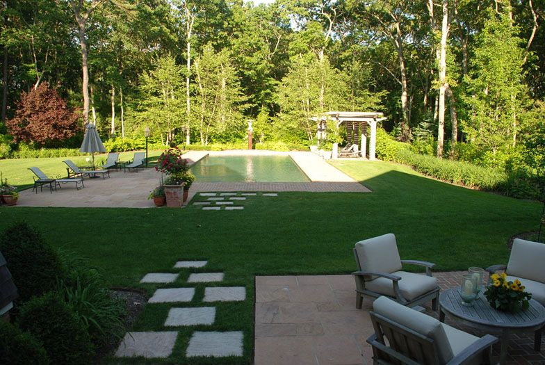 outdoor garden and pool quogue ny