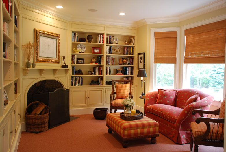colorful sitting room interior design quogue new york