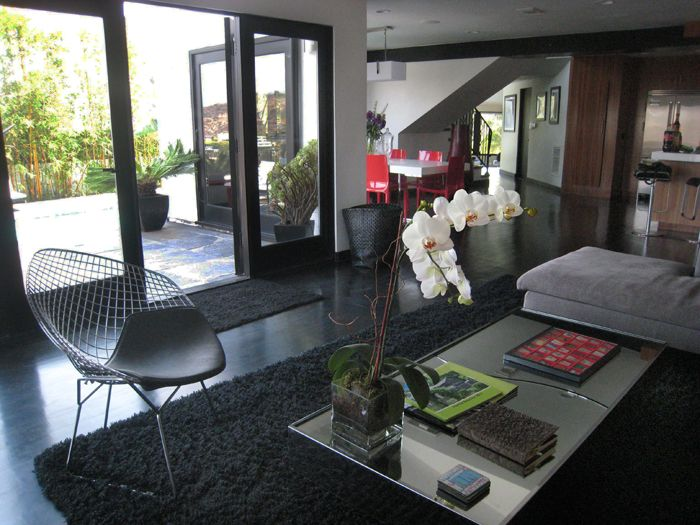 Hollywood Hills Livingroom Interior Design