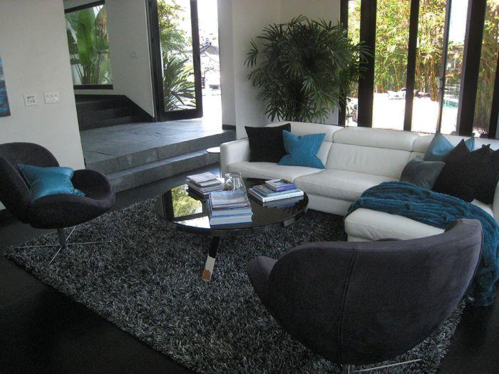 Hollywood Hills Media Room Interior Design