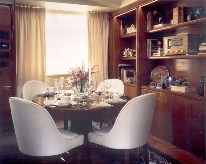 diningroom new york deco elegance for parisien
