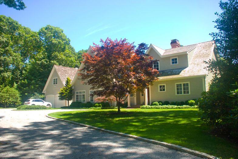 Exterior of East Hampton Home