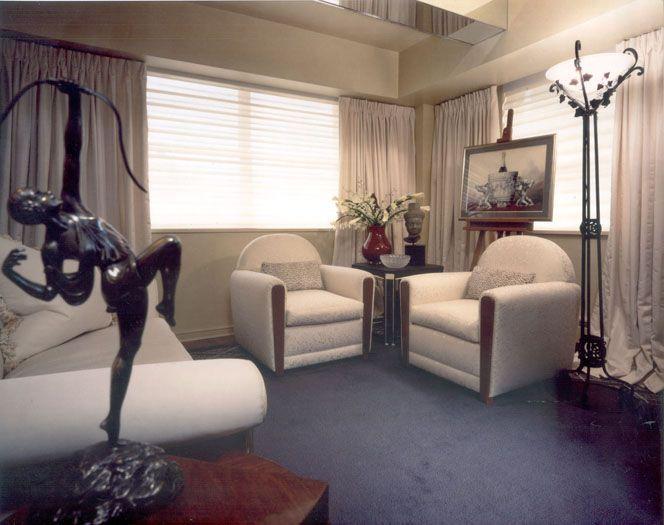 livingroom deco style new york for parisien