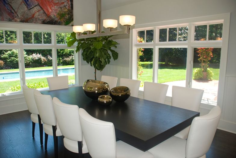 Dining room interior design by The Balsam Group