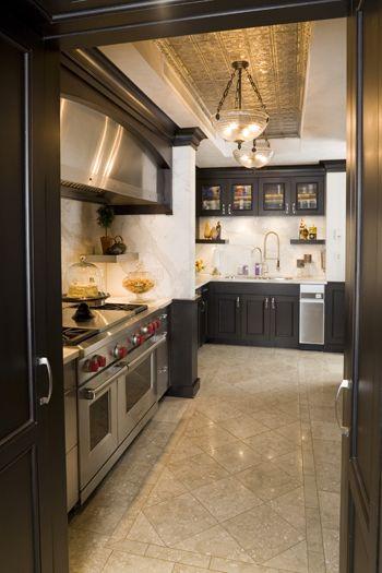 Kitchen view grand tradition duplex new york