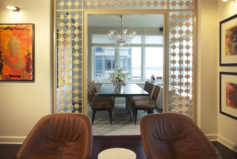 art collectors new york city diningroom interior design