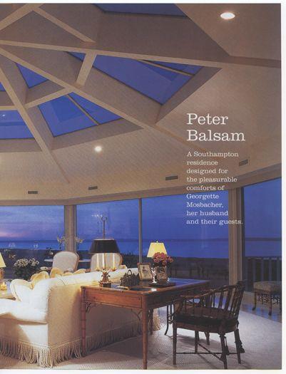 Interior Design Magazine features Peter S. Balsam Associates