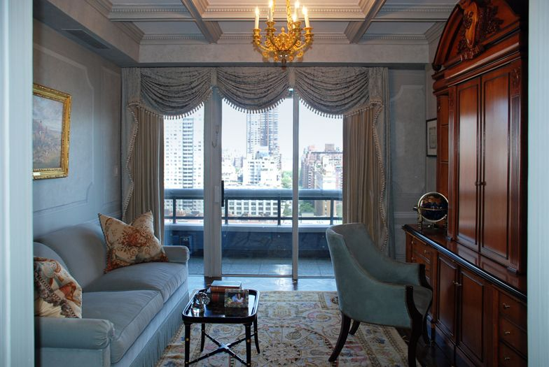 Den interior grand tradition duplex new york