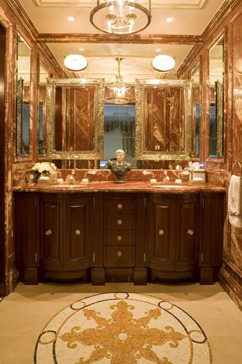 red onyx design bathroom duplex new york