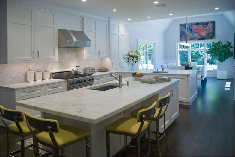 Kitchen interior design by The Balsam Group, East Hampton, NY