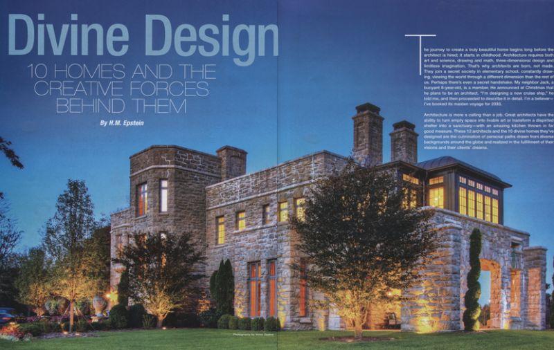 Westchester Home Magazine - Devine Design opening spread